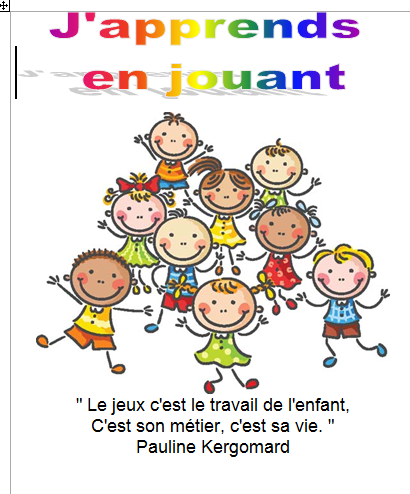couverture j'apprends en jouant