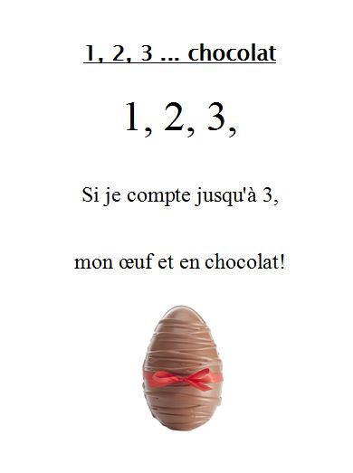 1 2 3 chocolat