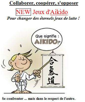 Coopérer, collaborer, s'opposer : Aikido 4 à 6 ans