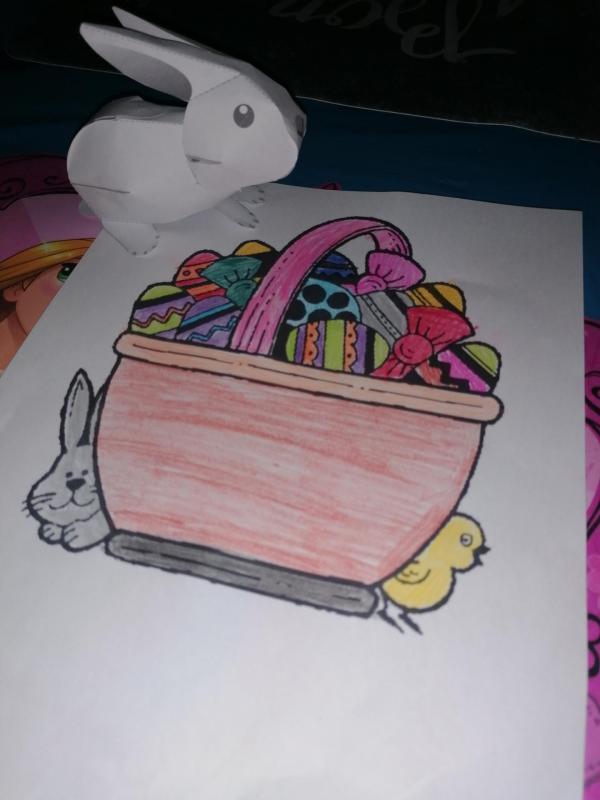 Coloriage de paques