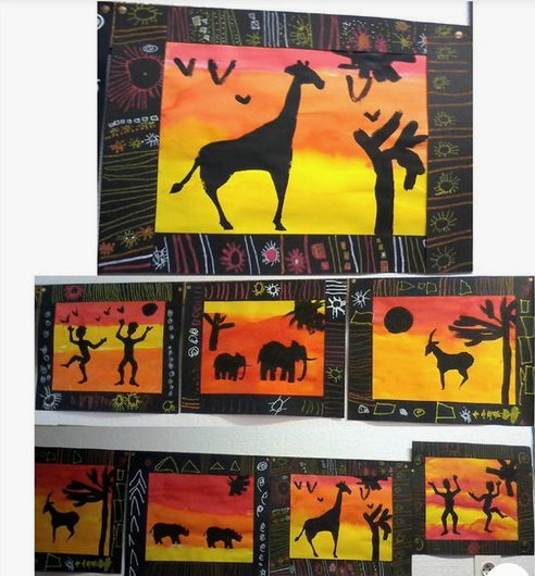 Les animaux d afrique