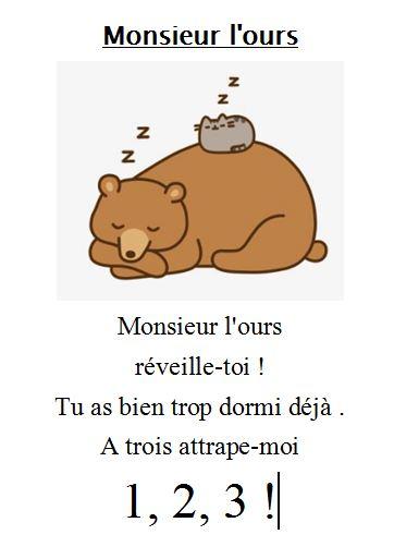 Monsieur l ours